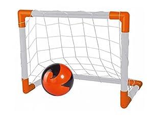 Simba 109451004-Strike 2en 1portería de fútbol