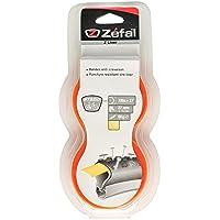 Zefal 9721.0 Paquete de 2 Cintas Antipinchazos, Naranja, 27 mm