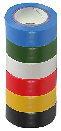 insulation-tape-19mm-x-8m-pk-of-6-mixed-sh5005-6mpk-by-pro-power