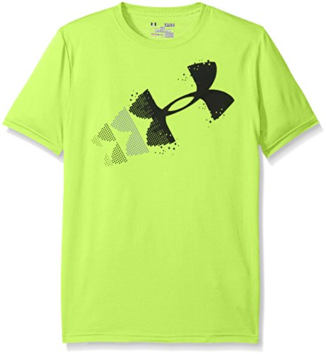 Under Armour Rising Pixel Logo-T-Shirt da bambino verde green -