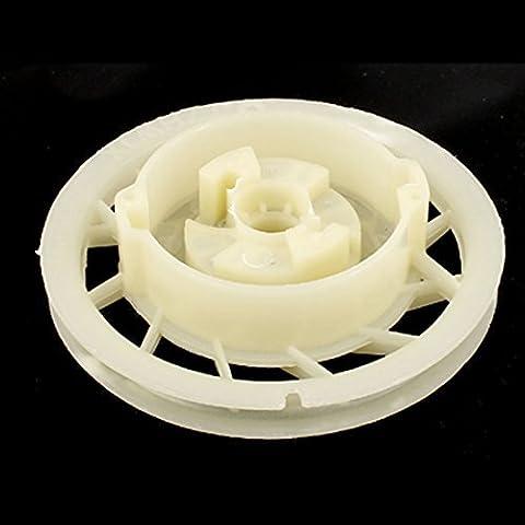 DealMux Kunststoff Pull-Rad starten Recoil Starter Drum Riemenscheibe 130mm Durchmesser