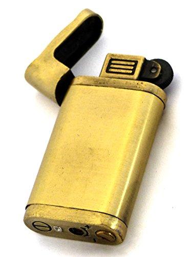 Vintage Feuerzeug in Bronze