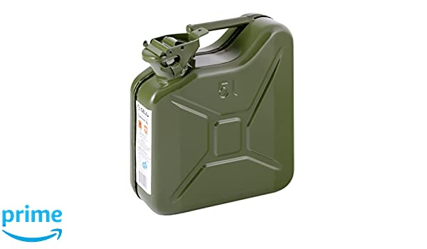 IWH/ sheet steel 5l jerry can in green 073857 item no.