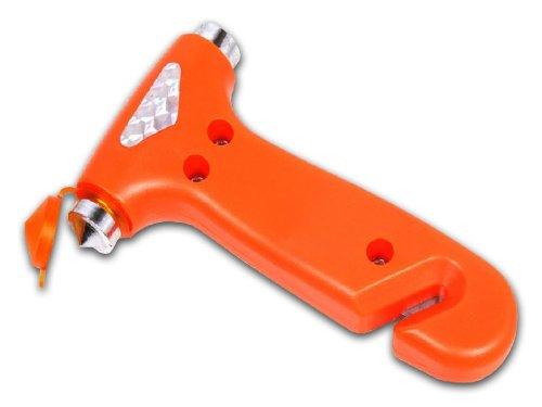 Nothammer mit Gurtschneider (Orange)