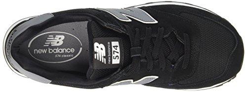 New Balance Ml574cna, Sneakers basses homme Black (Black/Grey)