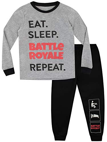 Battle Royale Pijama para Niños Gaming Multicolor 7-8 Años