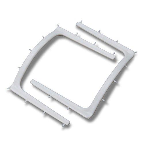 Bluelover 5Pcs Porte-Barrage en Caoutchouc Jetables Résistant Aux Dents Support Plastique Portable Outils Oraux