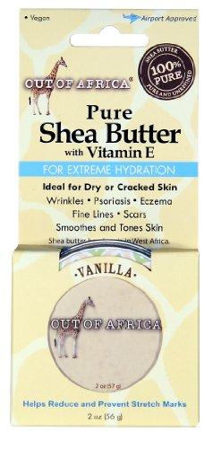 Pur, Beurre de Karité à la vitamine E, la vanille, le 2 oz (56 g) - Out of Africa