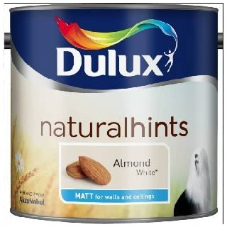 Dulux Natural Hints Matt 2.5L Almond White