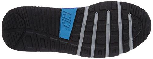 Nike Air Max Trax Unisex-Erwachsene Sneakers Grau (Metallic Silver/Blue Lagoon-Lyon Blue-Black)