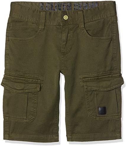 s.Oliver Jungen 61.903.74.5958 Shorts, Grün (Khaki 7931), 164 (Herstellergröße: 164/BIG) (Slim Khaki-hosen Jungen)