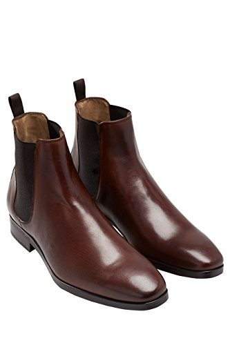 next Hommes Bottines Chelsea Marron