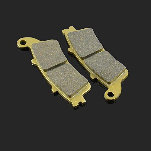 Fast Pro 115.60418.30 mm 1 Paire Plaquettes de Frein Avant et arrière pour Honda St 1100 96-02 XL 1000 99-02 VFR 800 Victory Vision Sreet 08-09