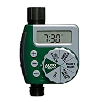 Orbit 62061Z 1-Outlet Programmable Hose Faucet Timer, Green