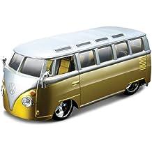 "Bburago 42004 - Figura de furgoneta Volkswagen ""Samba"" a escala 1:32 (varios colores)"