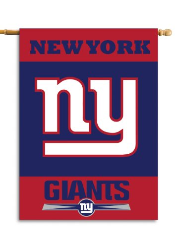 Fremont Die NFL Doppelseitiges Hausbanner, 71 x 102 cm, New York Giants, 28