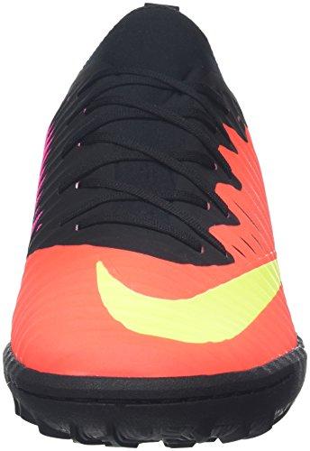 Nike Herren Mercurialx Finale Ii Tf Fußballschuhe Mehrfarbig (Pures Karmesinrot/Pink Blast/Schwarz/Volt)