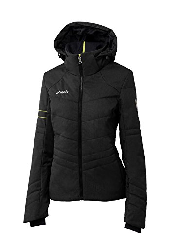 Phenix Damen Powder Snow Jacket Skijacke, Heathered Black, 42