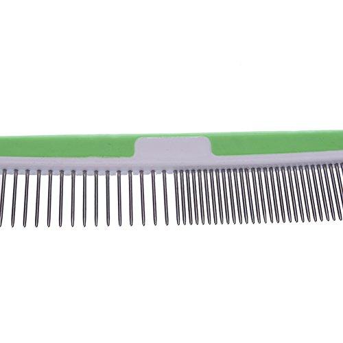 Samber anti-statischen geraden Kamm, entfernt fallende Haare, Schmutz und verhindert Haar Knotting.Random Farbe - 6