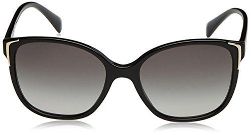 prada damen 0pr01os 1ab3m1 55 sonnenbrille schwarz black. Black Bedroom Furniture Sets. Home Design Ideas