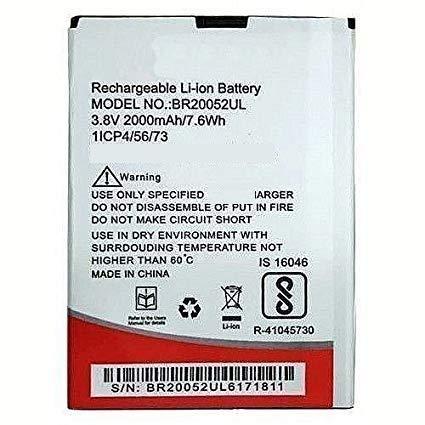 Replacement Internal Battery for Intex Aqua Lion 4G Br20052ul2000 Mah Li-Ion
