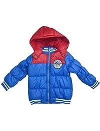 e8caa075 Minoti Boys Boys Padded Puffa Jacket with Detachable Hood