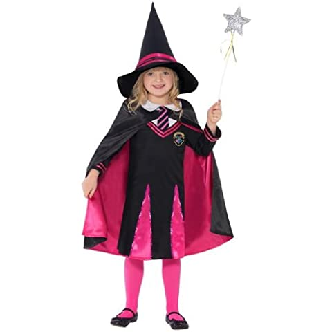 Costume Carnevale Halloween Strega Studentessa - Harry Potter film - bambina