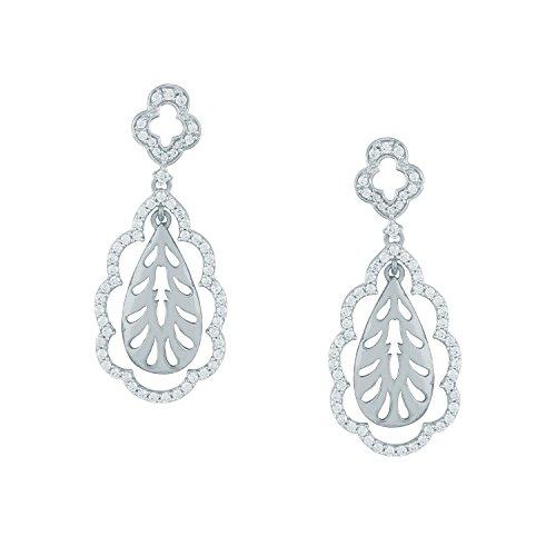 Giantti Diamant Boucle d'oreilles pendantes Femme (1.42CT, qualité HSI, Gh-colour)