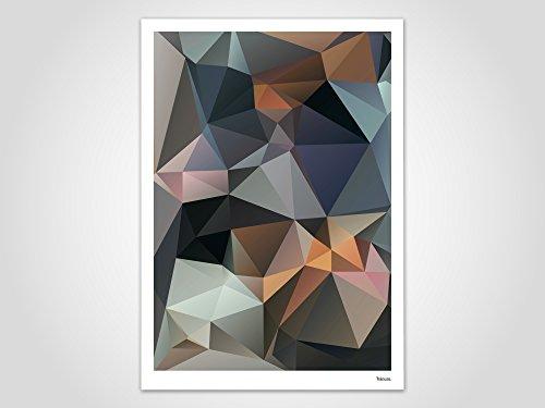 Assal / Poster, Bild, Kunstdruck, Skandinavisch (Valentinstag Freundschaft Karten)