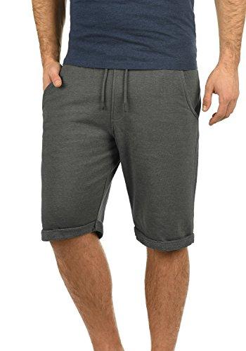 Blend Antique Herren Sweatshorts Kurze Hose Jogginghose Mit Fleece-Innenseite Und Kordel Regular Fit, Größe:M, Farbe:Pewter Mix (70817)