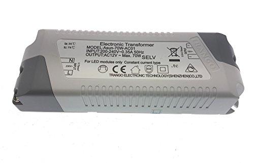 Super Trango TGG4E-012 Edelstahl-Look 12Volt AC/DC LED Einbaustrahler  SK83