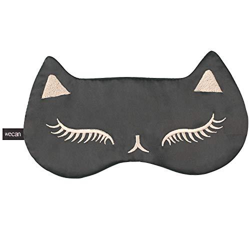 ANGTUO Mascarilla para ojos Natural Pure silk Máscaras para dormir de calidad superior transpirable