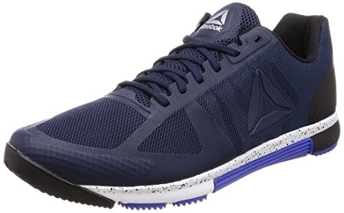 Reebok speed tr, scarpe da fitness uomo, blu (collegiate navy/acid blue/black/white 000), 41 eu