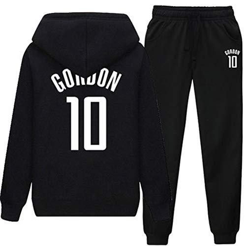 Otoño Camiseta de Baloncesto de Manga Larga para Hombres 10th Gordon # Ropa de Baloncesto Traje Deportivo...