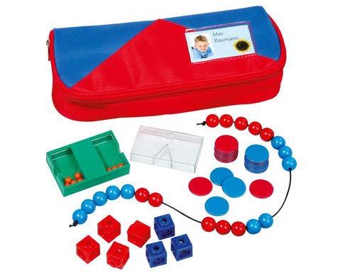 Betzold 86466 - Mathematik-Set Grundschule im Mäppchen - Rechnen Lernen Kinder Mathe