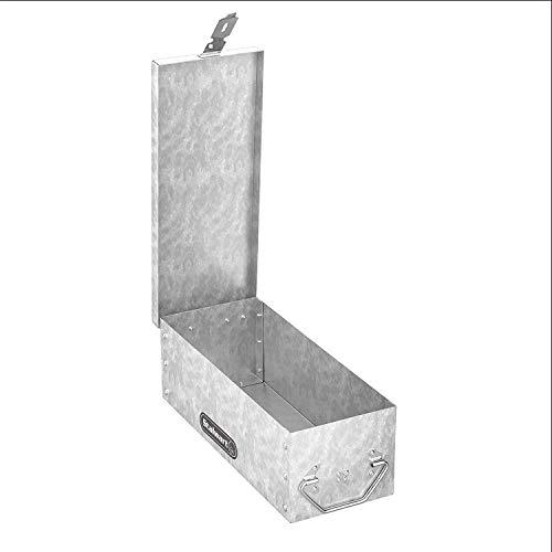 """Stalwart 75-005 Metal Storage Lock Box, 12"""""""