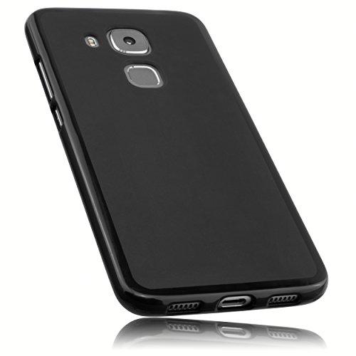 mumbi Hülle kompatibel mit Huawei Nova Plus, schwarz