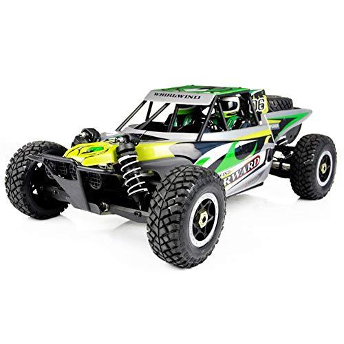 FTOPS RC Auto Weg Von Der Straße LKW Elektrisches Hochgeschwindigkeitsfahrzeug Mit 2,4 Ghz 4WD 1: 8 Buggy Fernbedienung Race Monster, Wiederaufladbare Rennen Rock Crawler Racing Car (Wiederaufladbare Rock Crawler)