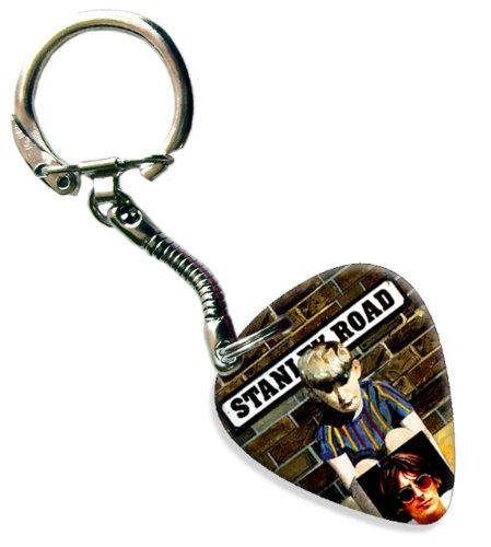Paul Stanley-gitarre (Paul Weller Stanley Road Gitarre Plektrum Keyring Schlusselring)