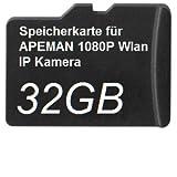 32GB DSP Speicherkarte für APEMAN 1080P Wlan IP Kamera