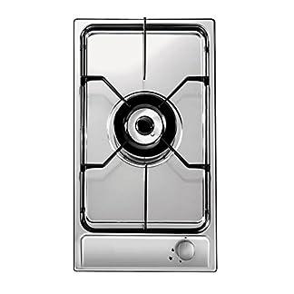 Candy CDG31/1SPX Integrado Encimera de gas Acero inoxidable – Placa (Integrado, Encimera de gas, Acero inoxidable, Acero inoxidable, Esmaltado, 3800 W)