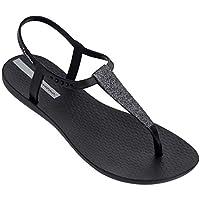 Sandales femme de la marque Ipanema en caoutchouc modèle Class pop sandal en coloris noir / black.Référence : va61panema145