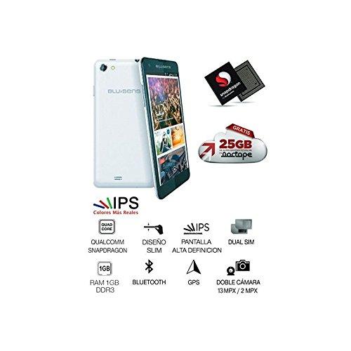 Blusens Smart Fit - Smartphone libre de 4 7 ARM Cortex-A7 WiFi 4 GB de RAM 20 GB de memoria interna Android