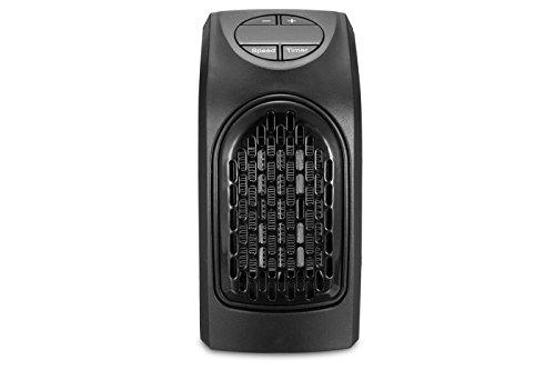 STUFA elettrica 400W portatile con spina elettrica girevole timer da 15° a...