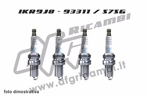 4 CANDELE NGK IRIDIUM 55249868 - IKR9J8 - 93311 / 5756
