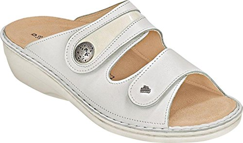 Soft Comfort Schuhe (Finn Comfort Mira-Soft weiss/Nappa-Knautschlack-40)