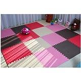 La norma europea del Mediterráneo de espuma de alfombra descomunal Los rompecabezas dormitorio lleno de ventanas y piso tatami Mats 60