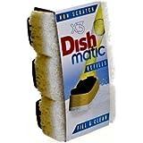 Dish Matic - Ricariche spugna non abrasiva, 3 pz