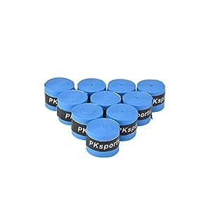 MILAEM Tennis Griffband Badmintonschläger Overgrip für Antientgleiten und Schweiß zu Saugen Band,10 Griffbänder per Paket