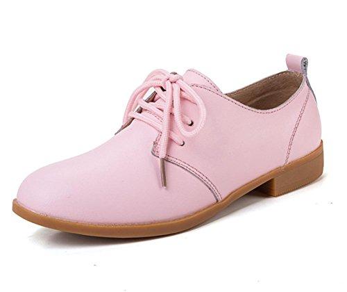 delle donne piane sceglie i pattini scarpe casual scivolare scarpe scarpe ascensore Ms. Autunno Pink